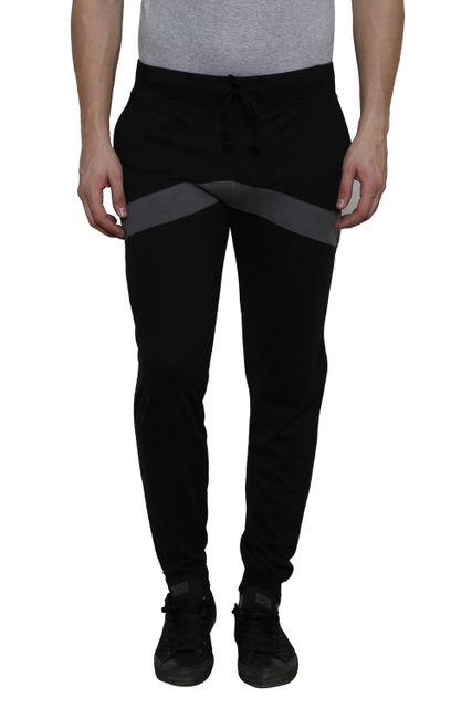 Black Solid with Dark Grey Detailing SlimFIt Jogger