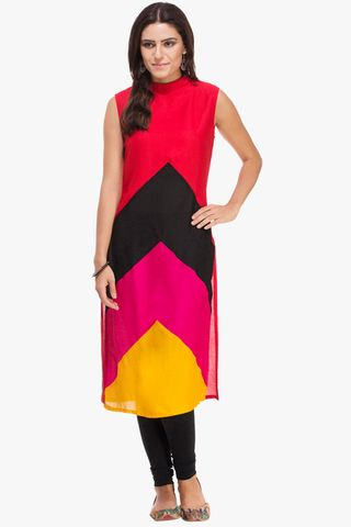 Patola Multi Color Designer Kurta