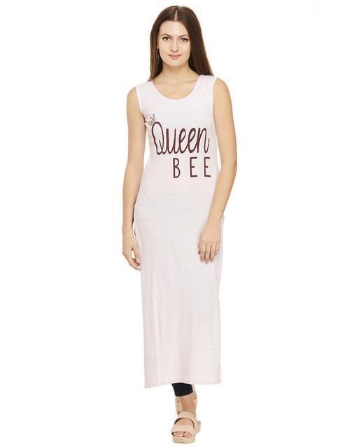 Queen Bee Printed Maxi Top