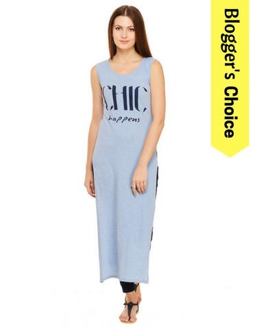 Chic Happens Printed Maxi Top