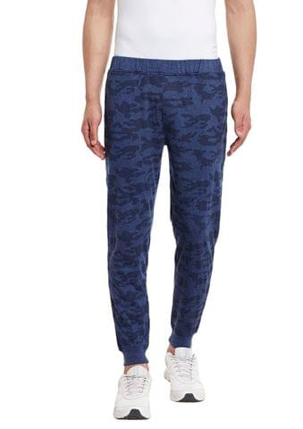 Navy Camouflage Print SlimFIt Jogger
