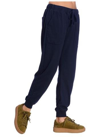 Navy Blue Slim Fit Jogger