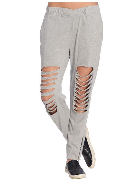 Grey Distressed Jogger