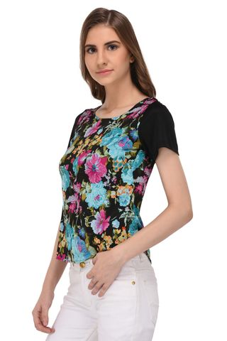 RIGO Floral Print Top for Women