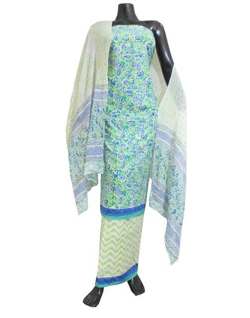 Bagru Print Salwar Suit Cotton- Pattern