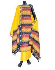 Handloom Cotton Ikat Salwar Suit- Multicolor