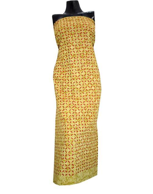 Cotton Cutwork Kurta-Multicolor