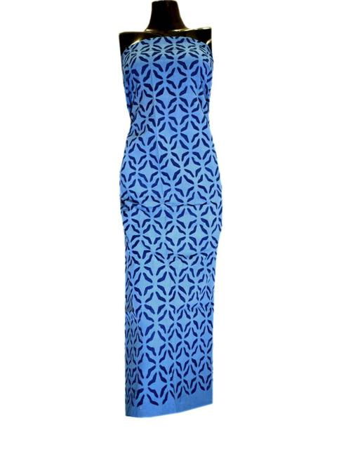 Cotton Cutwork Kurta-Blue