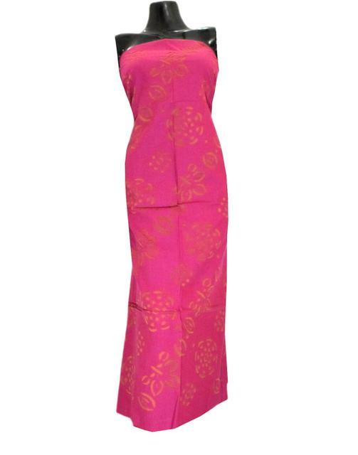 Cotton Cutwork Kurta-Pink&Rust