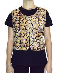 Reversible Kalamkari Jacket in Cotton- Pattern 10