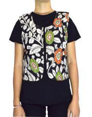 Reversible Kalamkari Jacket in Cotton- Pattern 11