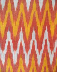 Ikat Cotton Running Material- Multicolor (1 mtr/2.5 mtr)