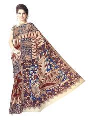 Kalamkari Saree in Cotton-Pattern 7