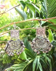 Afghani Earrings/Chandbalis in Alloy Metal 7