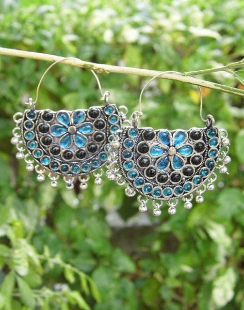 Afghani Earrings/Chandbalis in Alloy Metal 23