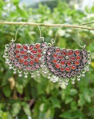 Afghani Earrings/Chandbalis in Alloy Metal 37