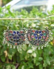 Afghani Earrings/Chandbalis in Alloy Metal 38