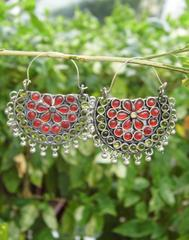 Afghani Earrings/Chandbalis in Alloy Metal 39