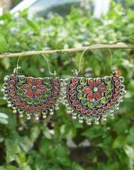 Afghani Earrings/Chandbalis in Alloy Metal 41
