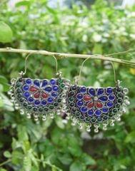 Afghani Earrings/Chandbalis in Alloy Metal 52