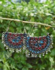 Afghani Earrings/Chandbalis in Alloy Metal 49
