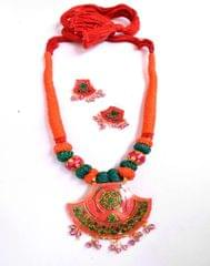 Threaded Meenkari Necklace Set- Pattern 10