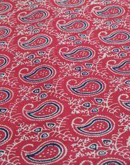 Ajrak Print Cotton Running Material- Pattern 4 (1 mtr/2.5 mtr)