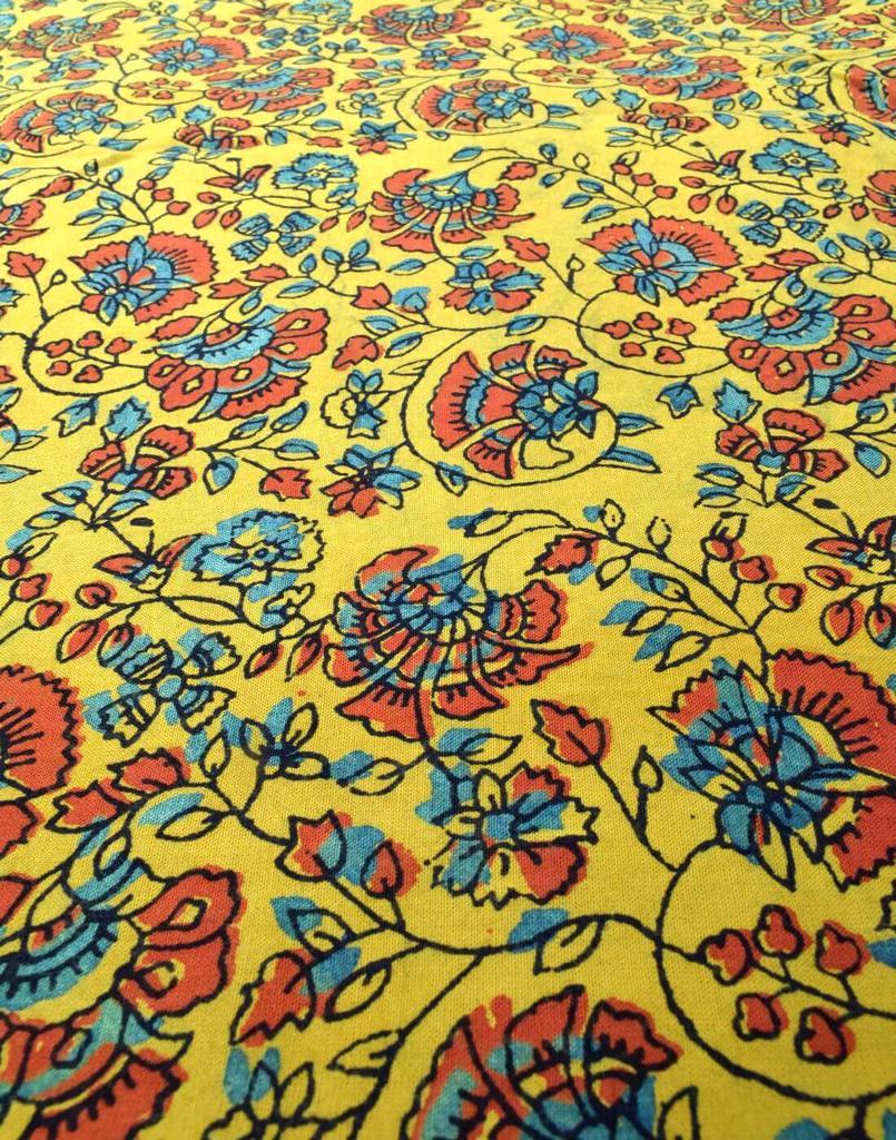 Ajrak Print Cotton Running Material- Pattern 5 (1 mtr/2.5 mtr)
