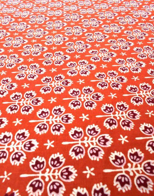 Ajrak Print Cotton Running Material-Pattern 2 (1 mtr/2.5 mtr)