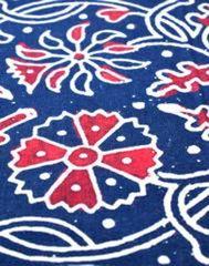 Ajrak Print Cotton Running Material- Pattern 7 (1 mtr/2.5 mtr)