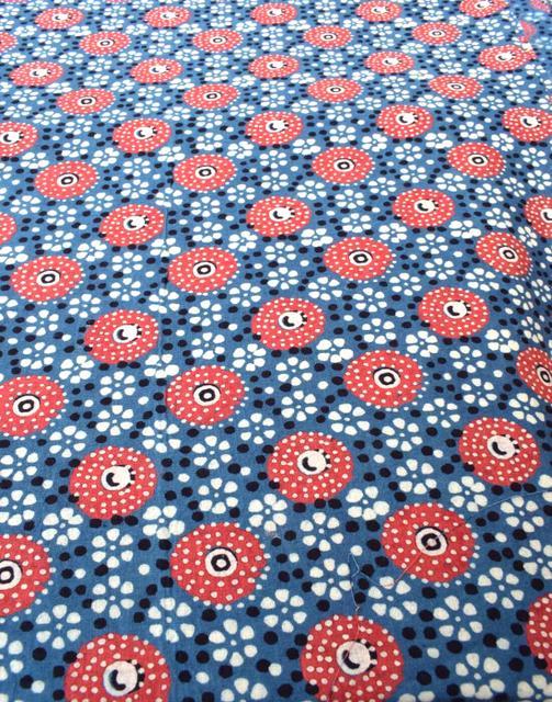 Ajrak Print Cotton Running Material- Pattern 3 (1 mtr/2.5 mtr)