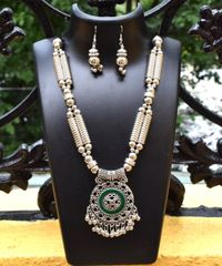 Oxidized Metal Set Colored- Green 1