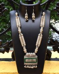 Oxidized Metal Set Colored- Green 2