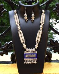 Oxidized Metal Set Colored- Blue 1