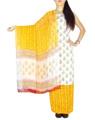 Bagru Print Salwar Suit Cotton- Pattern 2