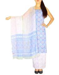 Bagru Print Salwar Suit Cotton- Pattern 3