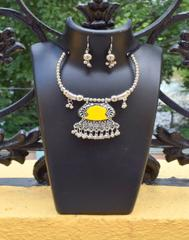 Oxidized Metal Set Colored-Yellow 1