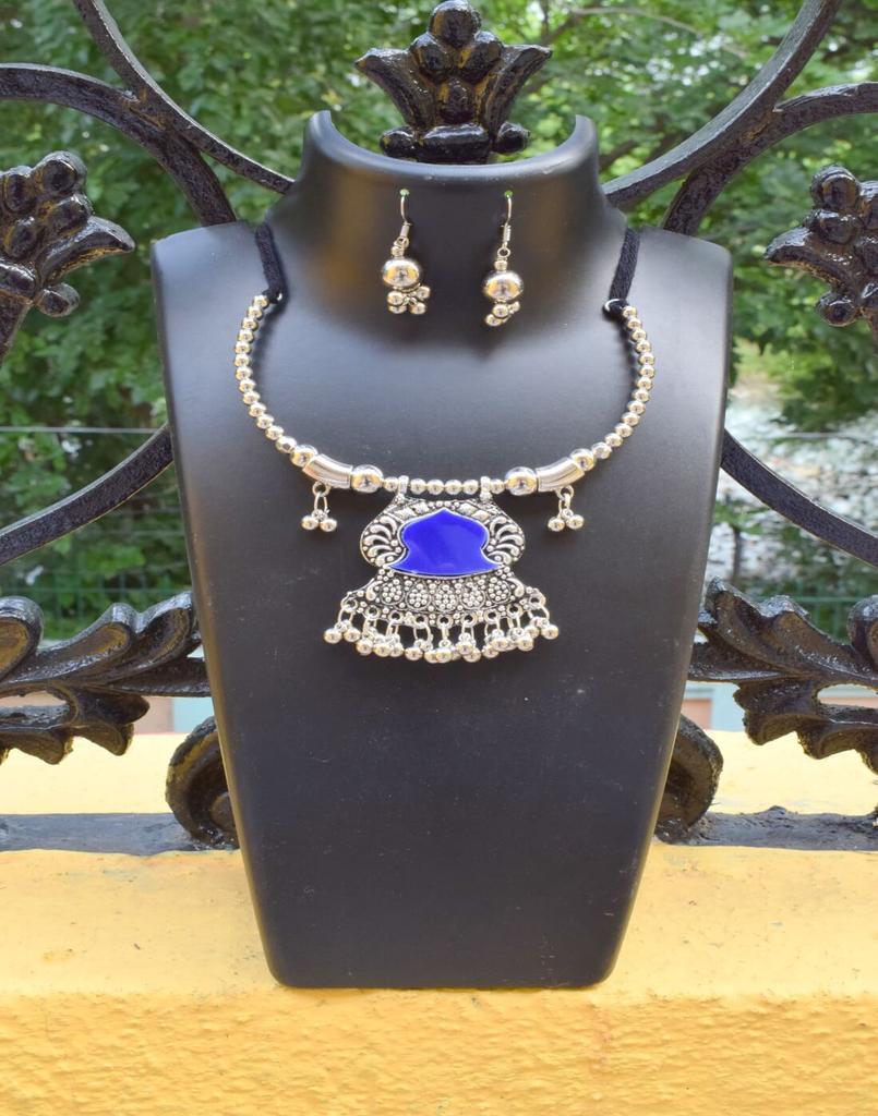 Oxidized Metal Set Colored-Blue 1
