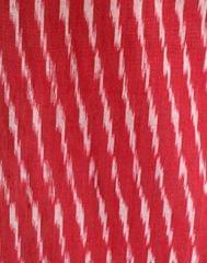 Ikat Cotton Running Material- Bean Red (1 mtr/2.5 mtr)