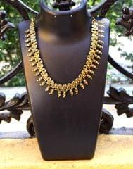 Oxidised Metal Kolhapuri Necklace- Pattern 11