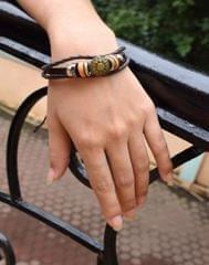 Sun Shape Decorated Multi-layer Bracelet