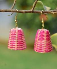 Bamboo Earrings Lamp Shaped- Pattern 1