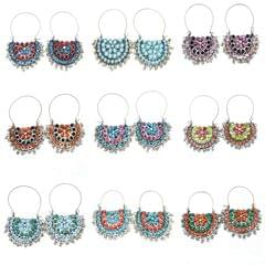 Set of 9 Afghani Earrings
