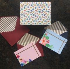 Floral Notecard Set