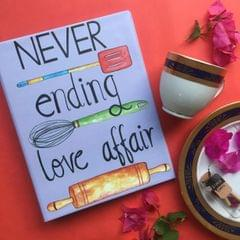 Never Ending Love Affair' Recipe Planner