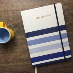 Make Waves today Hardbound Journal