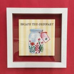 Escape the Ordinary' Wall Frame