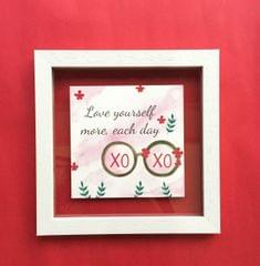 Love Yourself More' Wall Frame