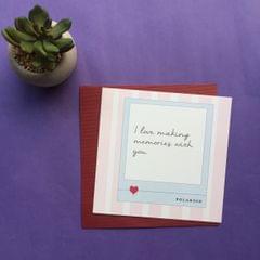 Making Memories Polaroid Greeting Card