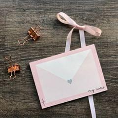 Love Note Mini Notepad